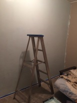 Starting to get the room painted